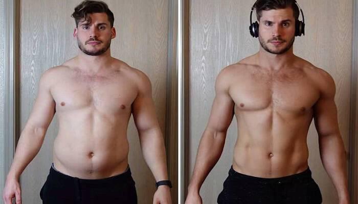 Η εντυπωσιακή αλλαγή στο σώμα ενός νεαρού μέσα σε μόλις 12 εβδομάδες