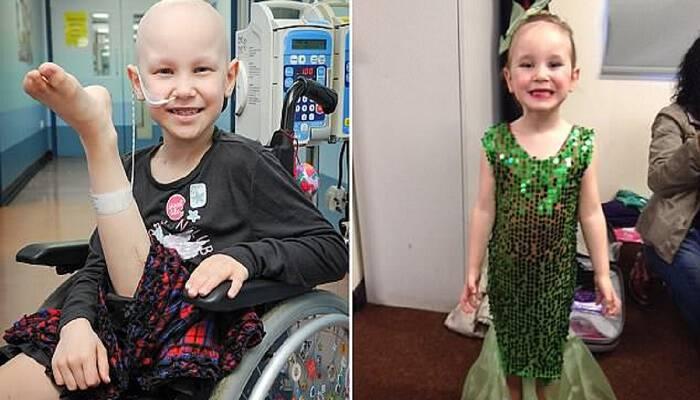 Κοριτσάκι 7 ετών που έχασε το πόδι της από καρκίνο χαίρεται που οι γιατροί το συνδέσανε ξανά γιατί θα συνεχίσει να χορεύει
