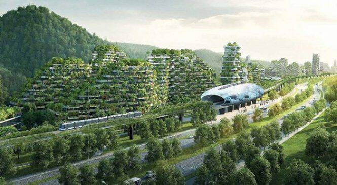 Η Κίνα δημιουργεί την πρώτη πόλη – δάσος για να καταπολεμήσει την παγκόσμια υπερθέρμανση