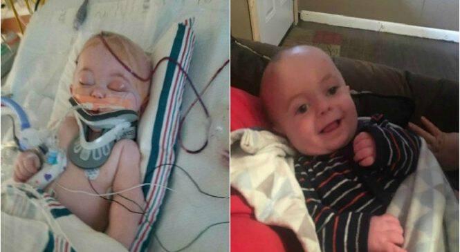 «Μια απλή πτώση από το κρεβάτι απείλησε τη ζωή του μωρού μου»: Μια μαμά προειδοποιεί τις άλλες μητέρες