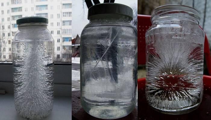 Ένα ποτήρι με αλατόνερο και ξίδι θα εντοπίσει τις αρνητικές ενέργειες στο σπίτι σας