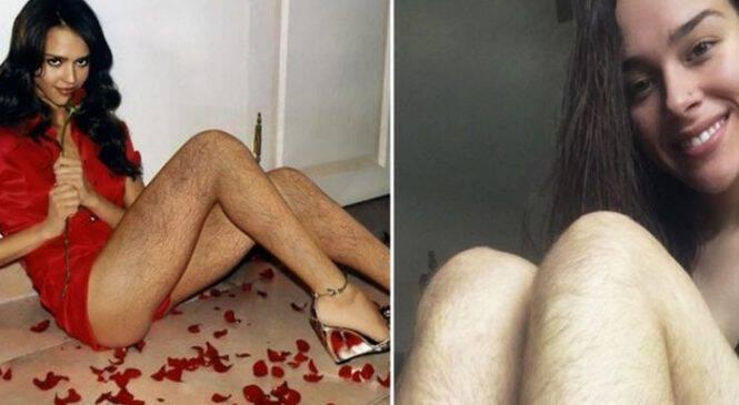Η Νέα Μόδα Που Σαρώνει  Γυναίκες Αφήνουν Αξύριστα Τα Πόδια Τους Και  Ποστάρουν Φωτογραφίες Στο b0b45032baf