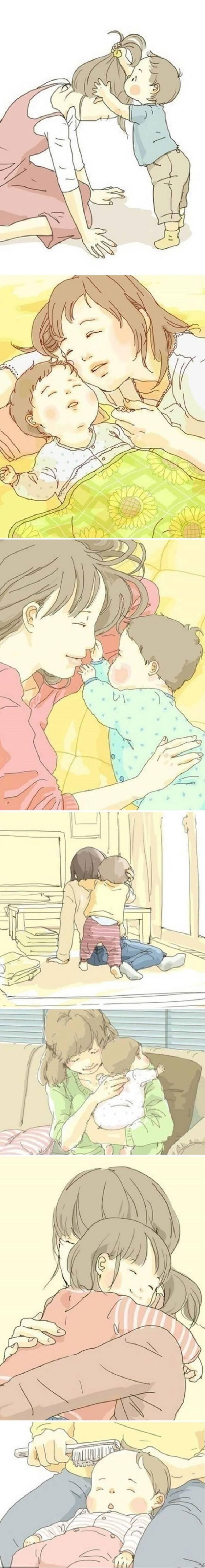 «Το καλύτερο πράγμα στο κόσμο θα ήταν όταν μεγαλώσω να είσαι και εσύ υγιής όπως και εγώ, μαμά» – Σ'αγαπώ μαμά 1