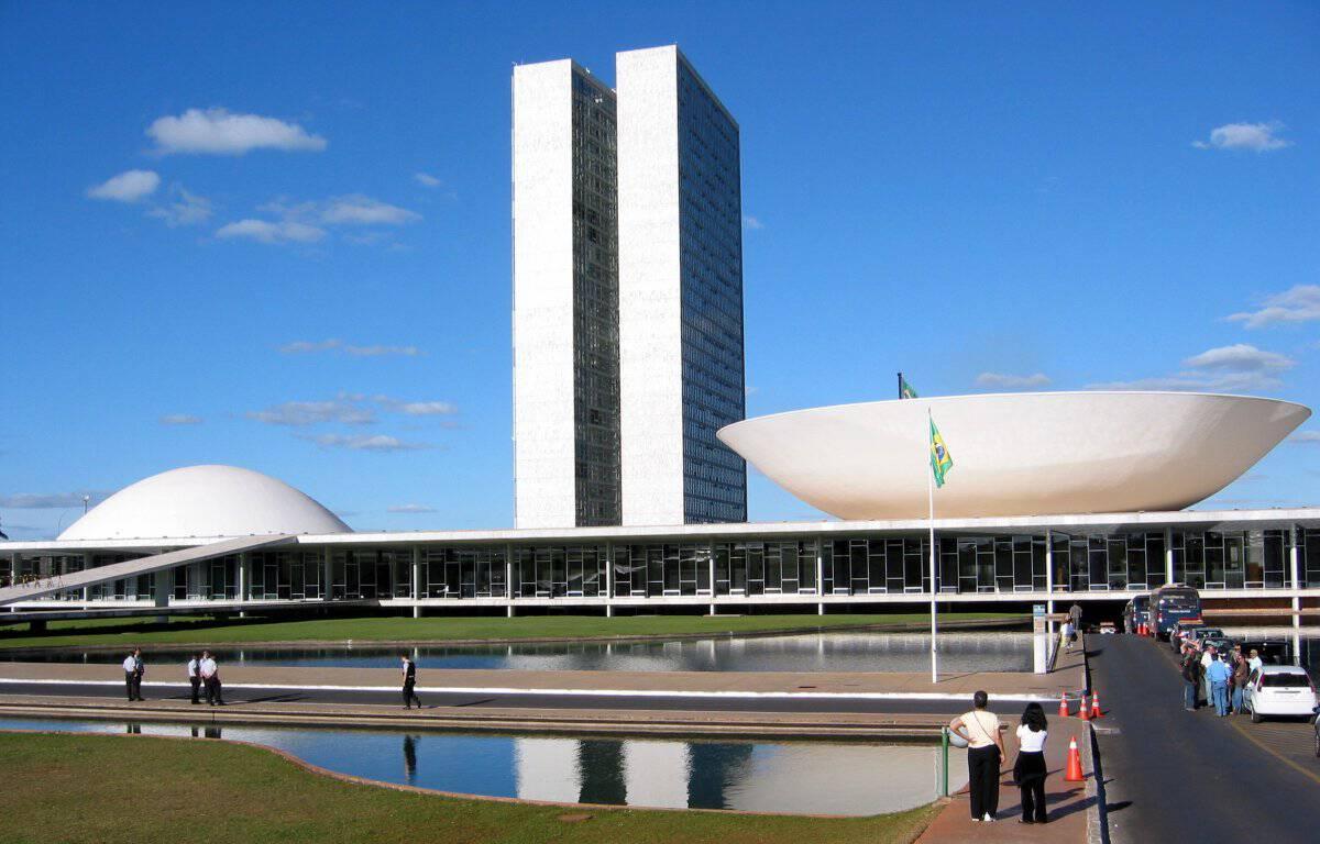 The National Congress of Brazil in Brasília.