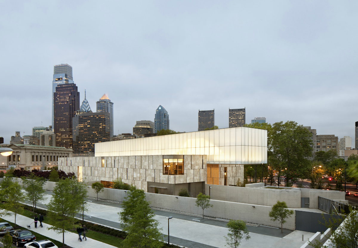 The Barnes Foundation Museum in Philadelphia, Pennsylvania.