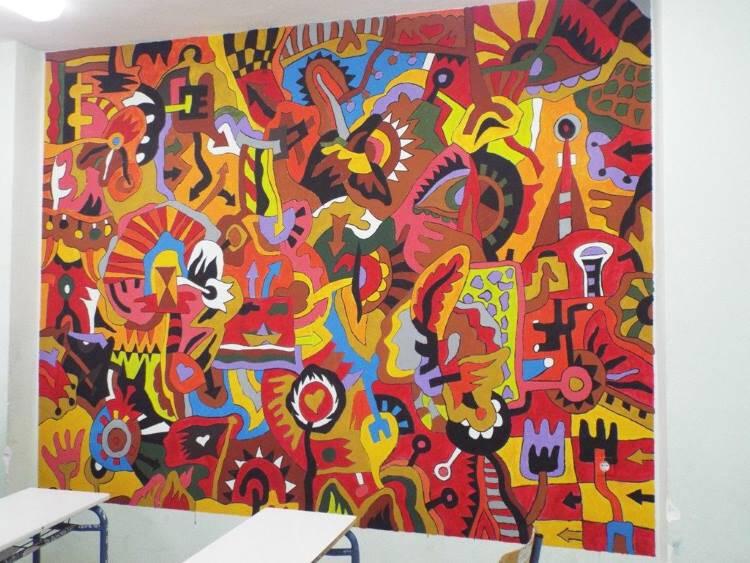 Τρίκαλα: Ένα σχολείο γεμάτο τέχνη και πίνακες ζωγραφικής (φωτογραφίες)