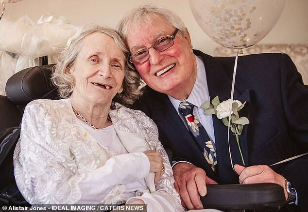 Pauline finally decided to pop the question in December last year after suffering from rare neurological condition Corticobasal Degeneration, which causes slower movements and tremors