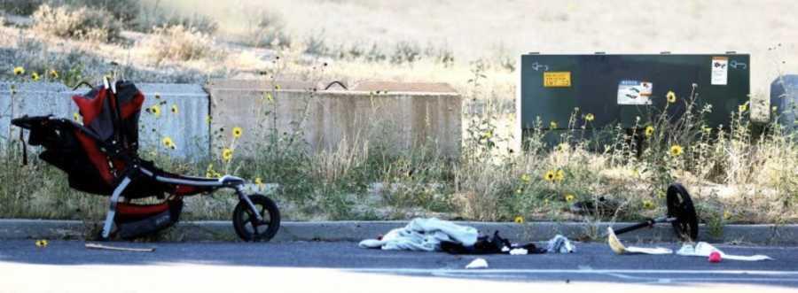 Είδα τα παιδιά μου να χάνονται-Το αυτοκίνητο χτύπησε το καρότσι και εκτοξεύτηκαν 5 μέτρα μακριά